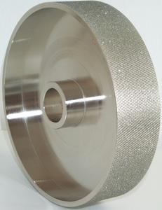 "6"" x 1.5"" Textured Diamond Grinding Wheel"