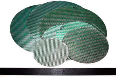 "18"" - 1/2"" Arbor Diamond Dot Disks By Eastwind"