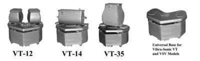 COMMERCIAL VIBRA-SONIC TUMBLERS VT Series